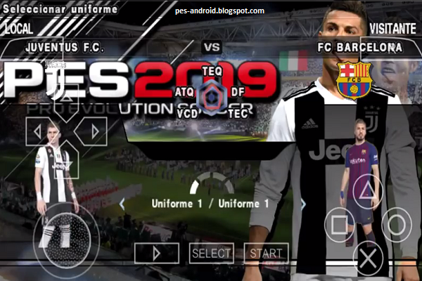 Download Pes 2019 Ppsspp C Ronaldo In Juventus Pes Android