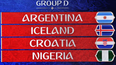 Argentina World Cup 2018 Group