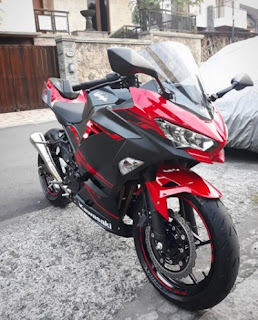 Kawasaki Ninja 250 cc 2018 red series