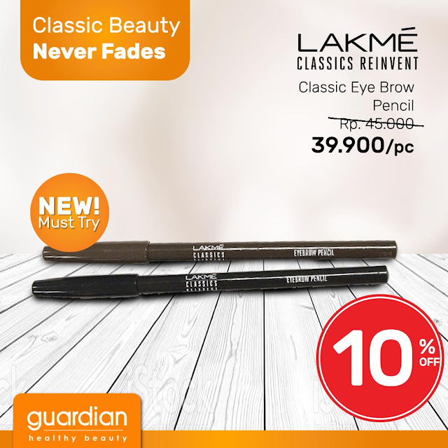#Guardian - #Promo Classic Beauty LAKME Diskon Hingga 15% (s.d 24 April 2019)