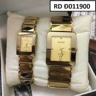 đồng hồ cặp đôi Rado RD D011900