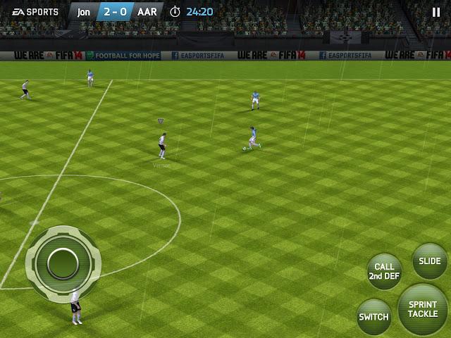 تحميل لعبة FIFA 2014 مود FIFA 2018 مجانا