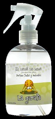 Perfume para la ropa de bebé