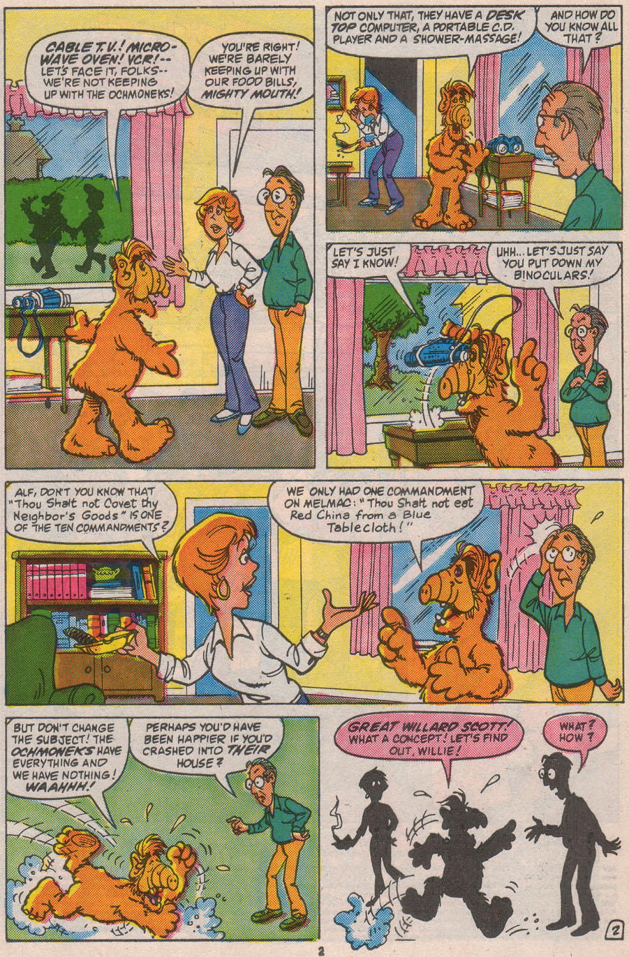 Read online ALF comic -  Issue #8 - 4