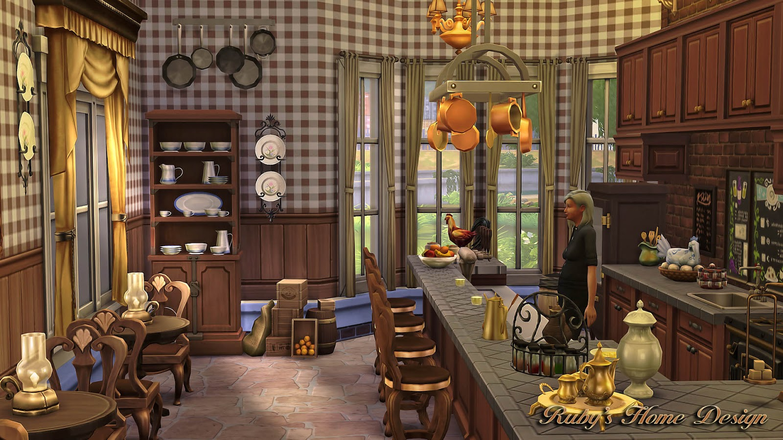 Grandma S Kitchen Sims 4 Houses