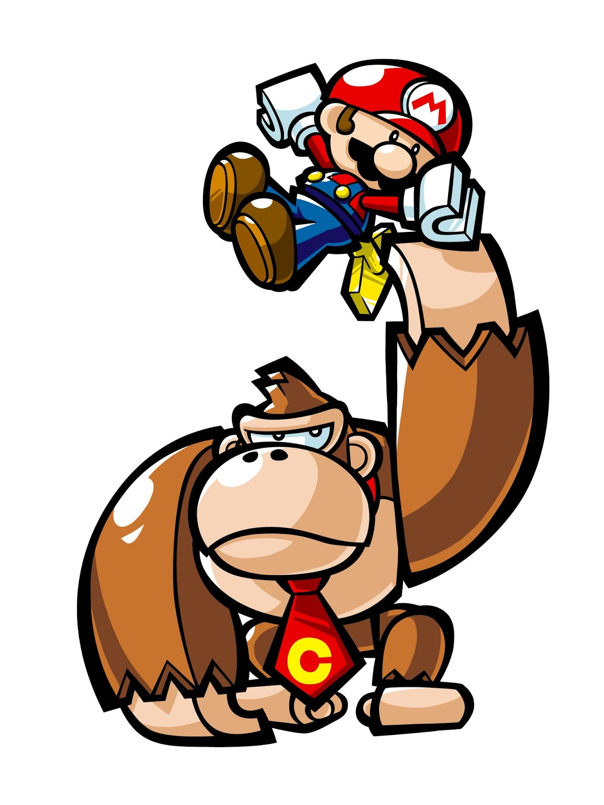 In Donkey Kong Junior The Carpenter Was Renamed Mario However His Next Appearance A Video Game