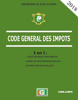 Code général des impôts 2018 - Côte d'Ivoire