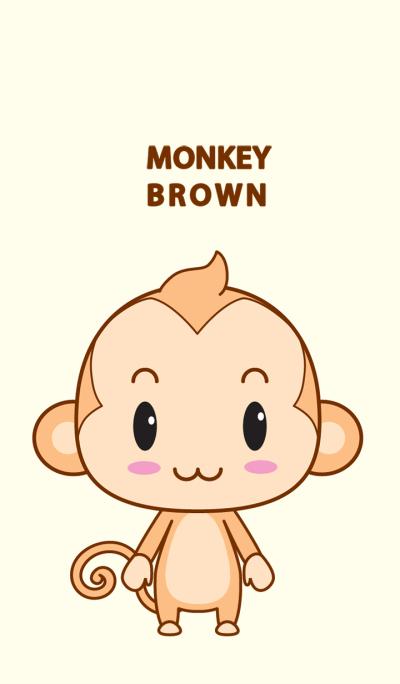 monkey brown