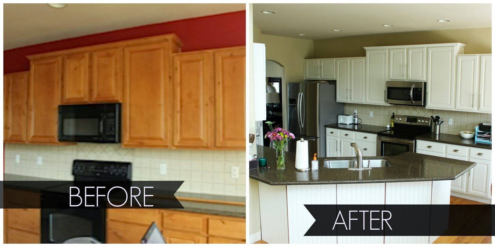 2nd story sewing painting kitchen cabinets a how to guide. Black Bedroom Furniture Sets. Home Design Ideas