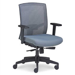 Gray Mesh Office Chair