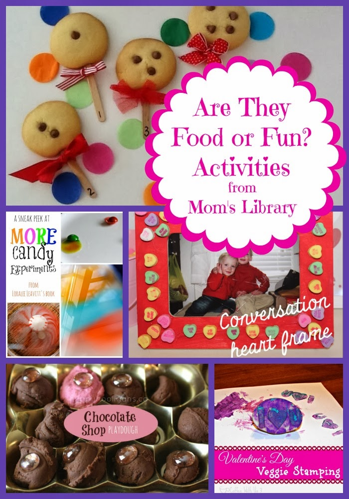 Food or Fun? at Mom's Library