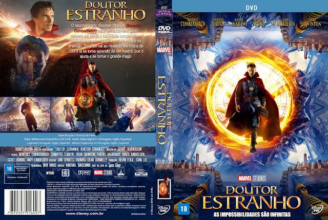 Capa DVD Doutor Estranho