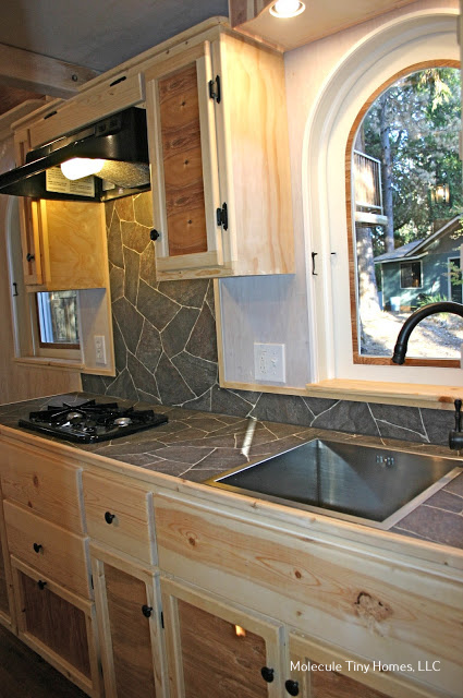Tiny Home Designs: TINY HOUSE TOWN: The Chalet From Molecule Tiny Homes