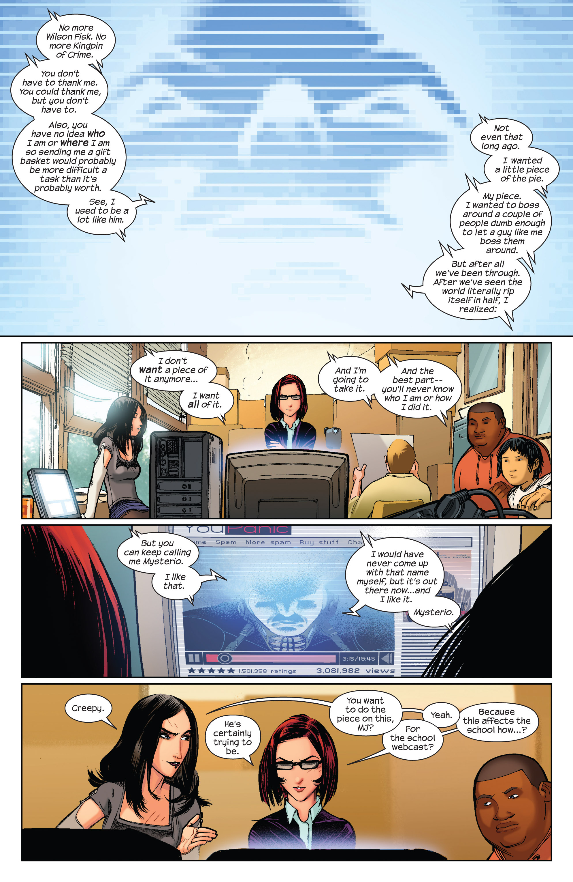Read online Ultimate Spider-Man (2009) comic -  Issue #3 - 3