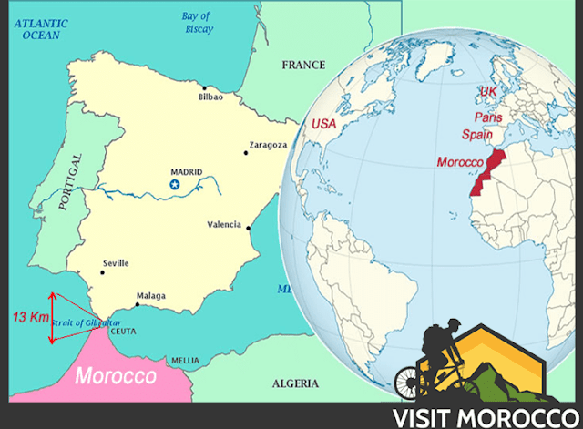 where is morocco , morocco which country , morocco in which continent, is morocco in africa