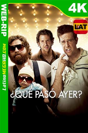 ¿Qué Pasó Ayer? (2009) Latino Ultra HD HDR WEB-RIP 2160P ()
