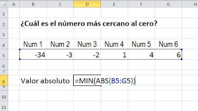 función en Excel