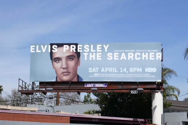 Elvis Presley Searcher billboard