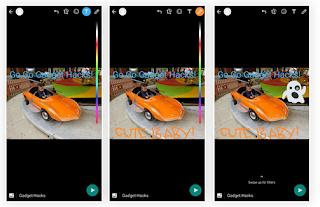 Cara Menggunakan GIF, Foto, atau Video sebagai Pesan Status whatsapp Anda