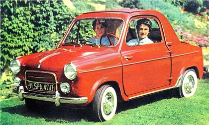 small and mighty the vespa 400 microcar voices of east anglia. Black Bedroom Furniture Sets. Home Design Ideas