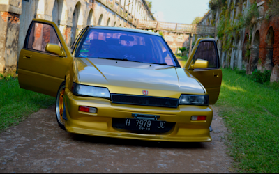Accord Prestige Kuning Front