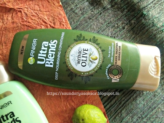 Garnier Ultra Blends Mythic Oil conditioner Review