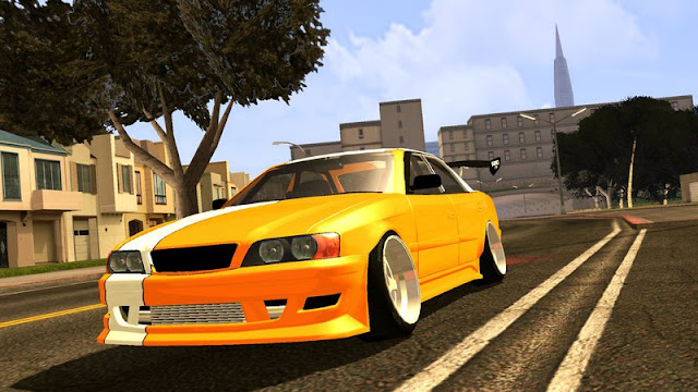 Toyota Chaser Tourer V JZX100 Tuned + DFF Only Mobile