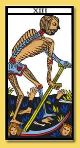 significado da carta da morte xiii