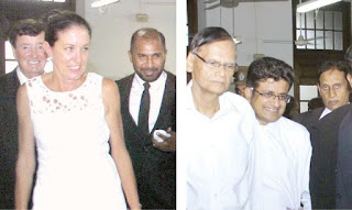 Court case involving Udaya Gammanpila