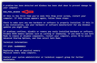 برنامج لحل مشكلة الشاشة الزرقاء ويندوز 7