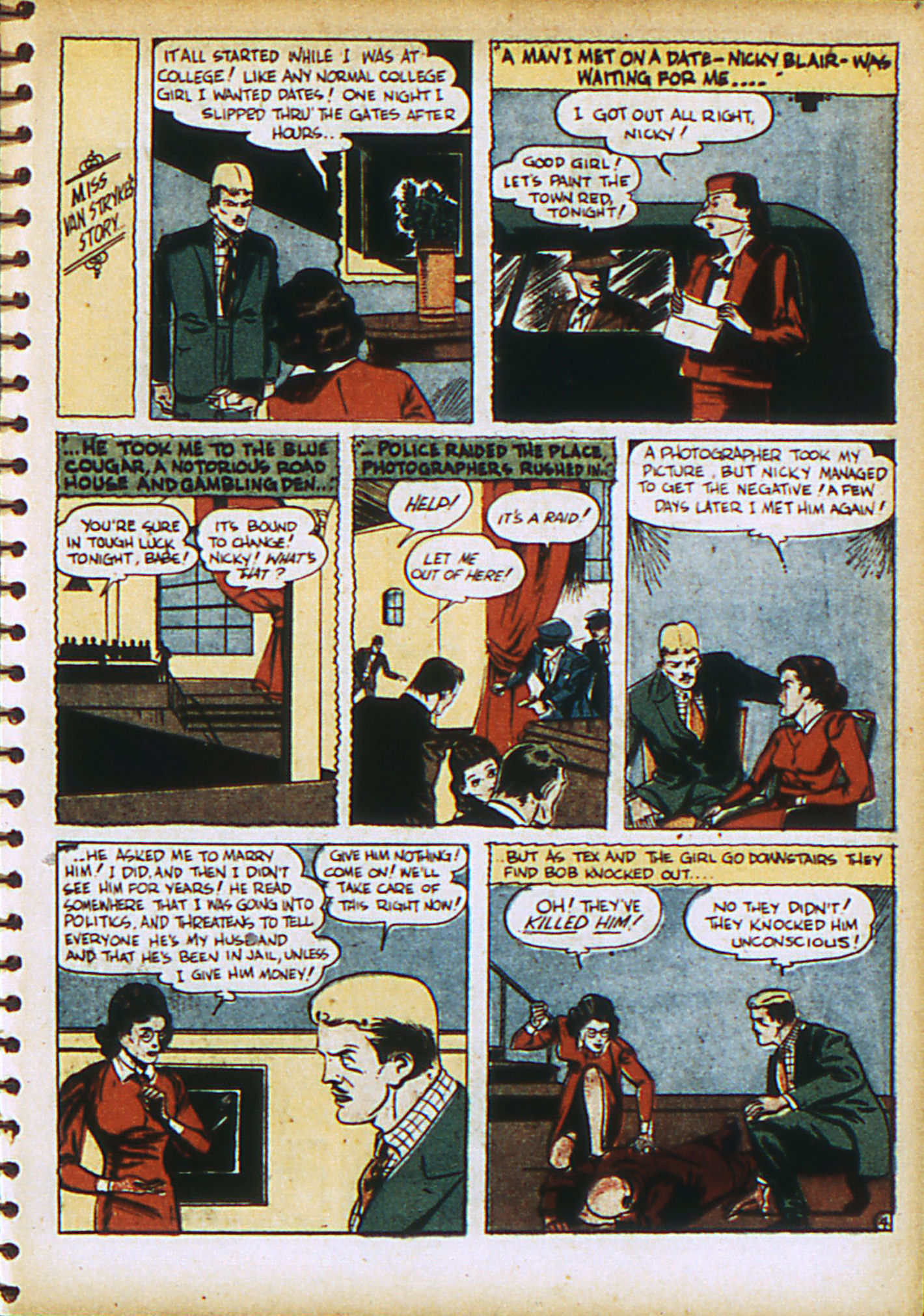 Read online Action Comics (1938) comic -  Issue #28 - 40
