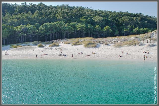 Playas de Galicia: Playa de Rodas Islas Cíes