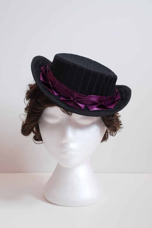how to make victorian hats - photo #16