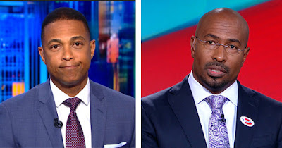 Don Lemon and Van Jones