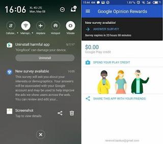Cara Dapat Uang Dari Google Survey Dengan Mudah