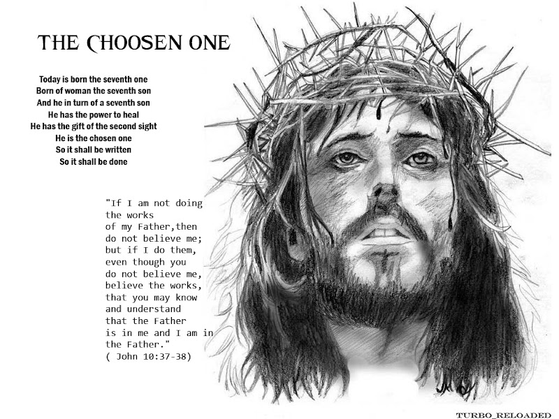 The choosen One - Jesus Christ (a short article)
