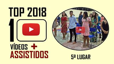 TOP 10 Vídeos mais assistidos em 2018 - 5º lugar