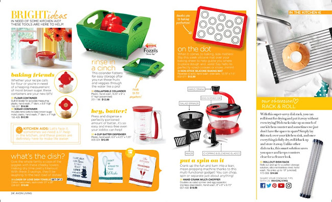 Avon Living Baking Tools >>>