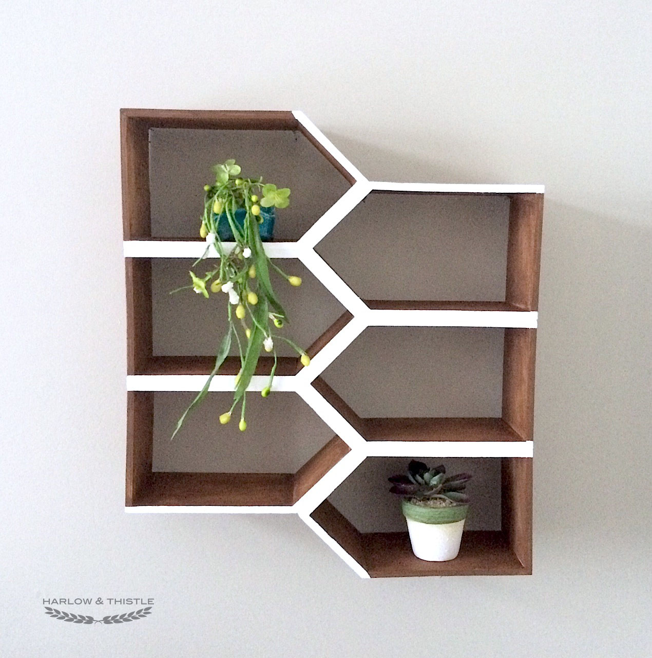 Diy geometric wall shelf harlow thistle home design diy geometric wall shelf minwaxcanada ids17 harlow thistle amipublicfo Gallery
