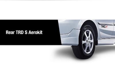 rear aerokit trd