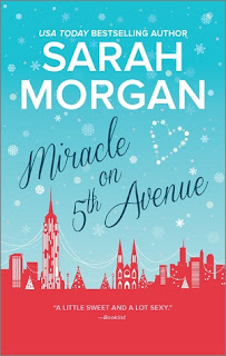 romance novel cover, contemporary romance, Miracle on 5th Avenue by Sarah Morgan
