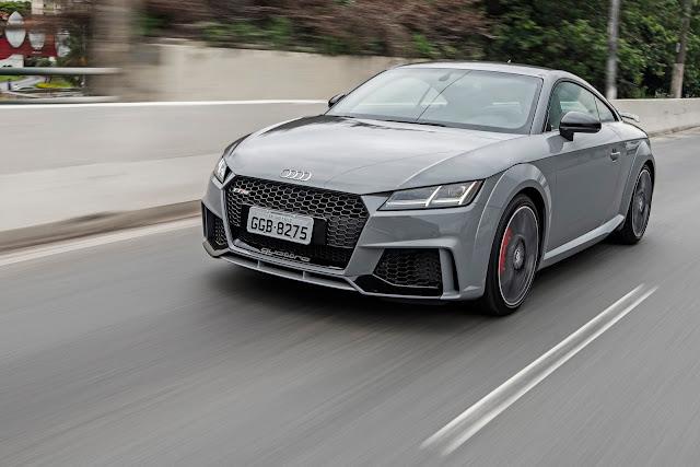 Novo Audi TT-RS 2019 chega ao Brasil por R$ 424.990 reais - detalhes e fotos