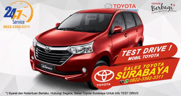 Info Test Drive Toyota Avanza Surabaya