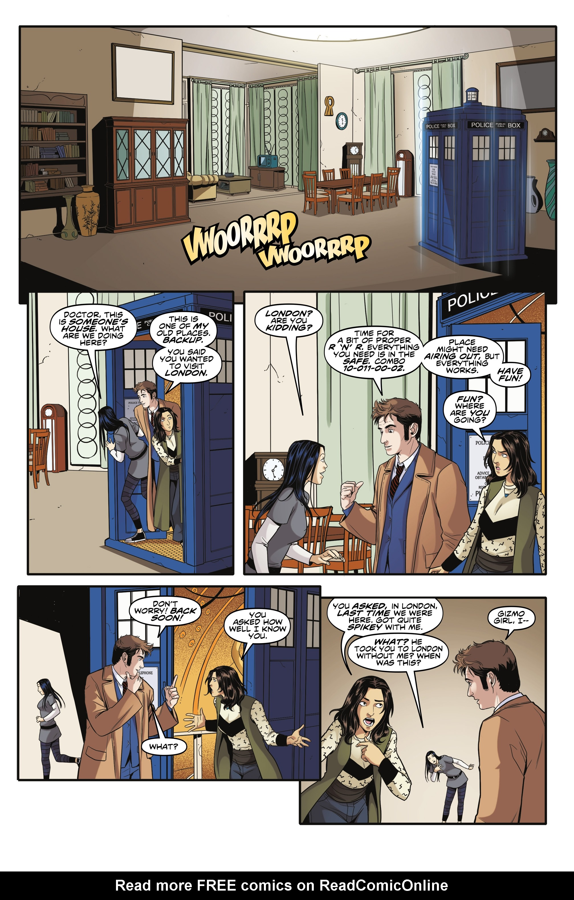 Read online Doctor Who: The Tenth Doctor Year Three comic -  Issue #6 - 17