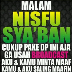 DP Malam Nisfu Sya'ban