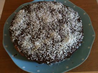 chokladkaka med glasyr