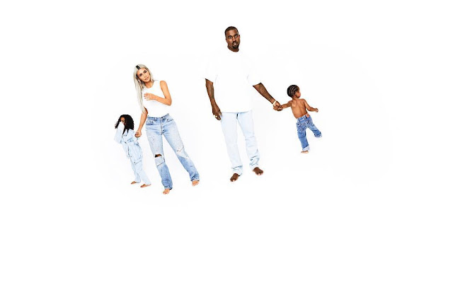 Kanye West features in the 2017 Kardashian Christmas card