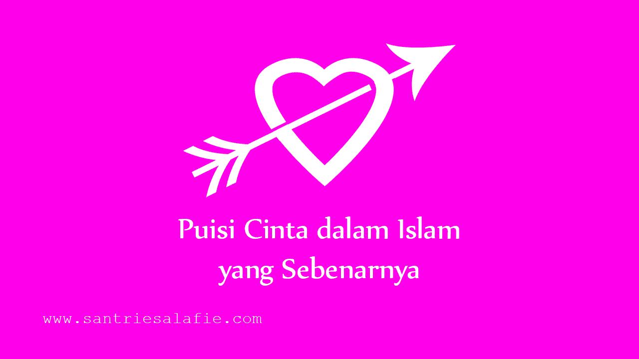 Kumpulan Puisi Cinta dalam Islam by Santrie Salafie