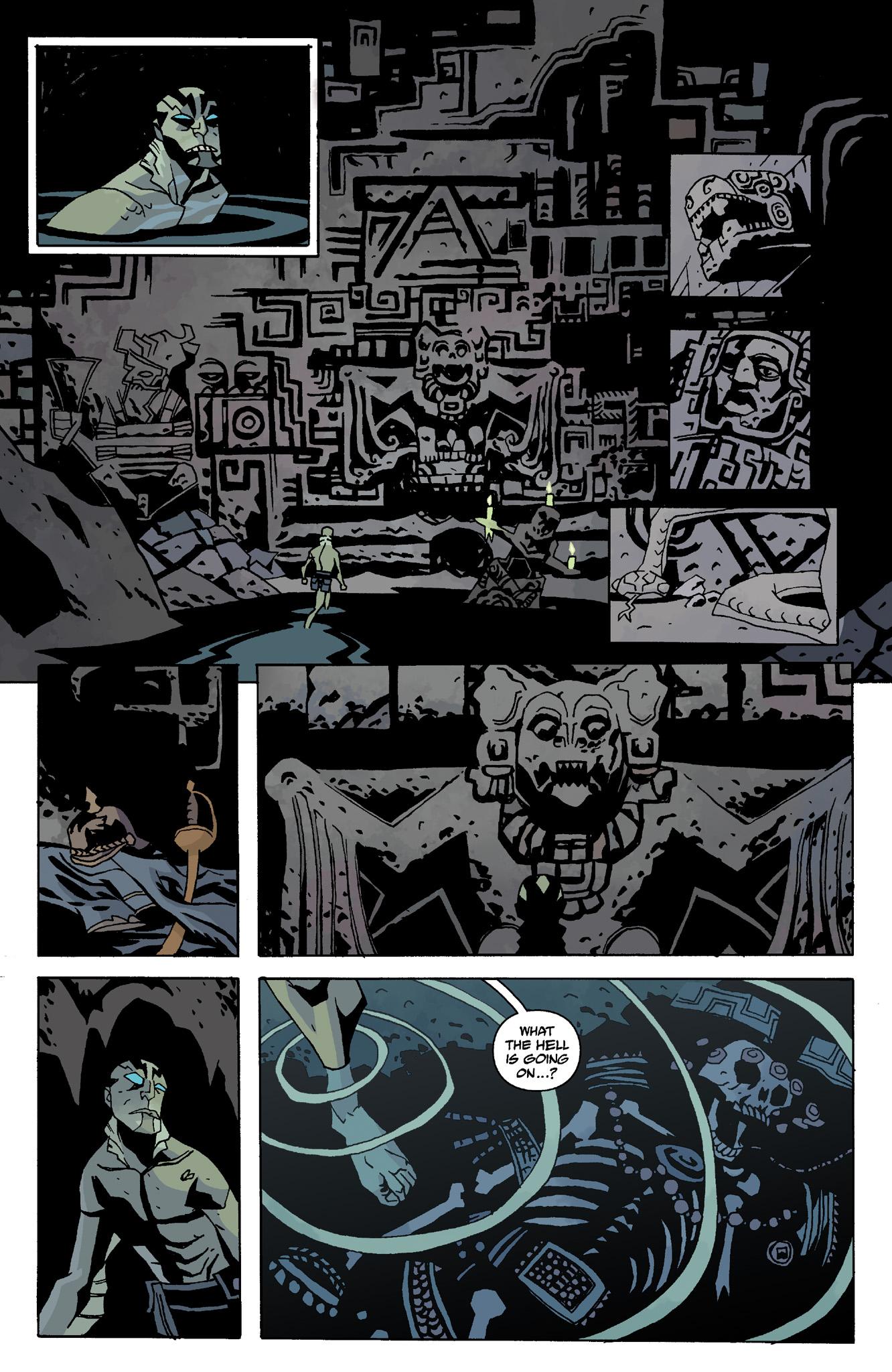 Read online Abe Sapien comic -  Issue #8 - 12