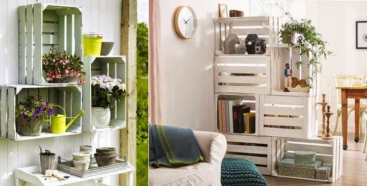 Marzua decorar con cajas de fruta - Como decorar cajas de fruta ...